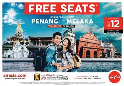 AirAsia - Penang-Melaka