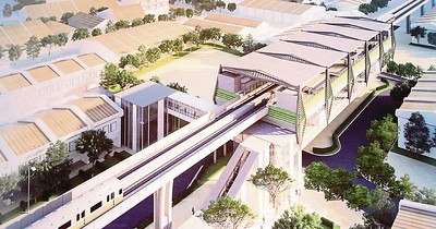 Penang LRT Station