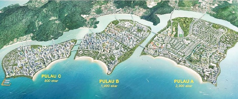 Penang South Reclamation project