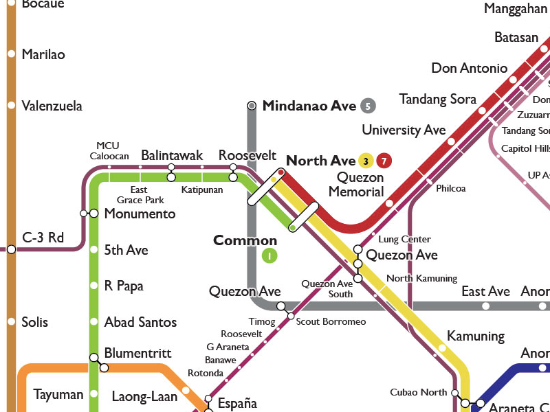 Unified Grand Central Station area map