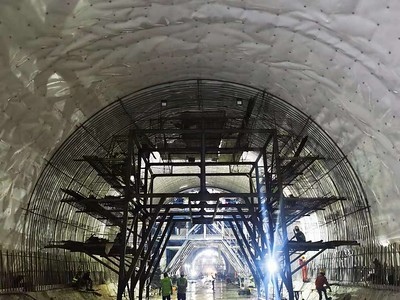 Tunnel of Jakarta-Bandung high speed railway completed