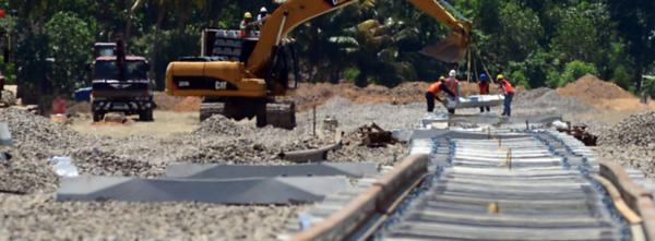 Sulawesi track laying