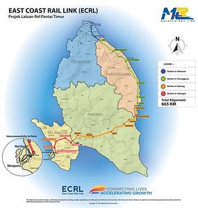 ECRL Map