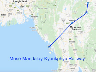 Muse-Mandalay-Kyaukphyu Railway