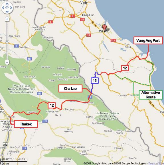 Thakhek to Vung Ang Railway