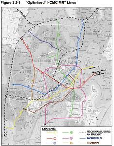 """Optimised"" HCMC MRT Lines"