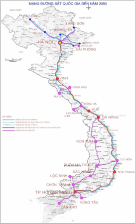 National Railway Network - Vision 2050
