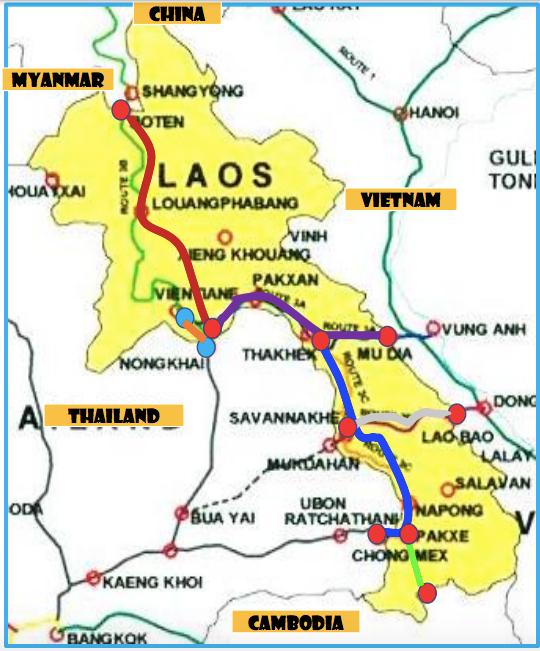 Railway development in Lao PDR