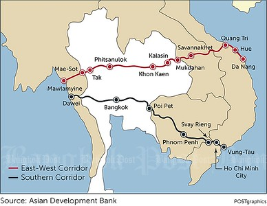 East-West and Southern Corridors