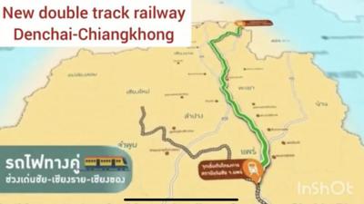 Den Chai – Chiang Rai – Chiang Khong New Double-Track Railway