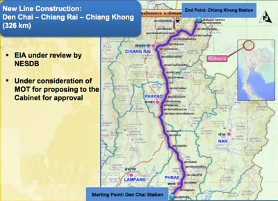 Den Chai – Chiang Rai – Chiang Khong