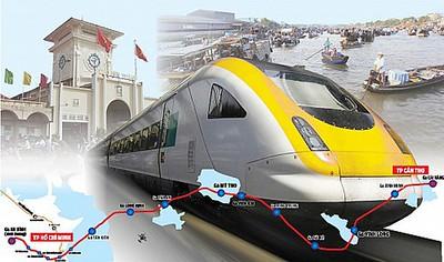 Saigon - Can Tho Railway