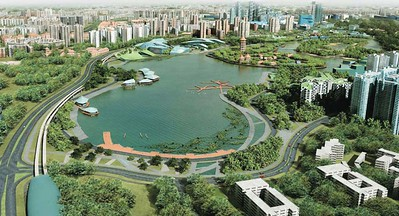 Jurong Lake District is going to be a new tourism hub