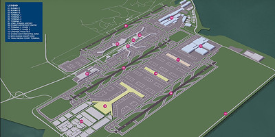 Changi East and Terminal 5 concept plan