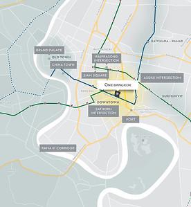 One Bangkok Map