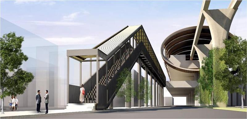 Hat Yai Monorail entrance