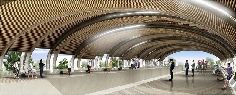 Hat Yai Monorail platform