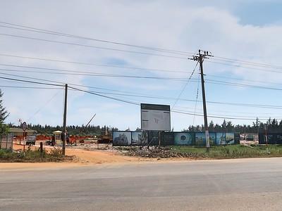 Thanh Long Bay construction entrance