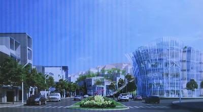 Entertainment complex at Hoa Binh