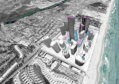 South Beach Danang area model