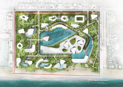 South Beach Danang map