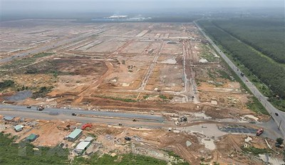 Long Thanh cleared land