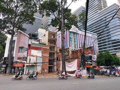 Demolition for Dan Chu Station - 25 October 2020