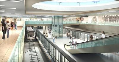 Ben Thanh Station Platform
