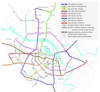 Hanoi Metro Map