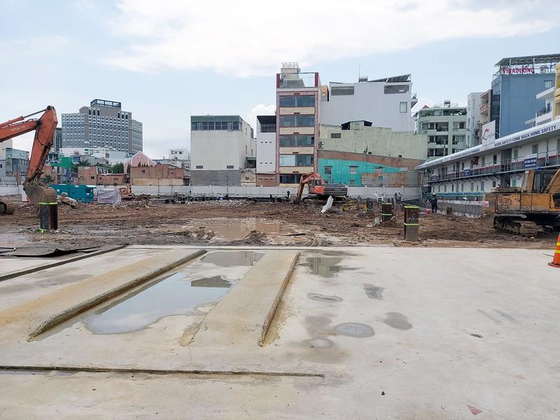 Lancaster Lagacy construction site