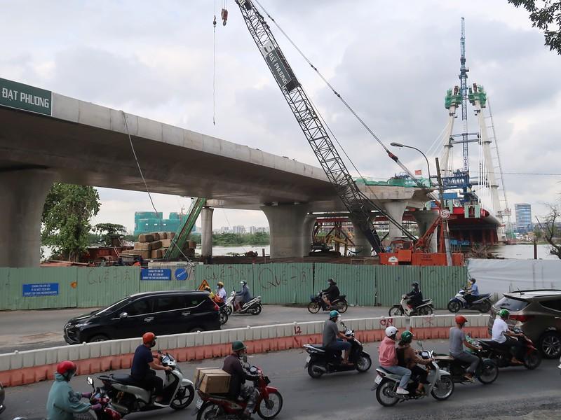 Bridge work District 1 side