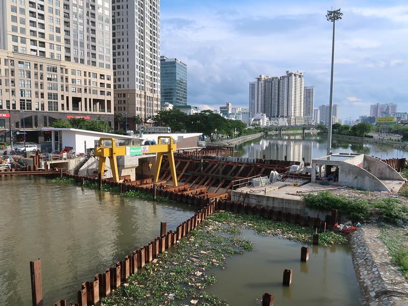 Ben Nghe Canal Flood Barrier