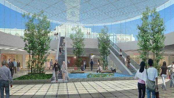 Ben Thanh Market Station Underground Plaza