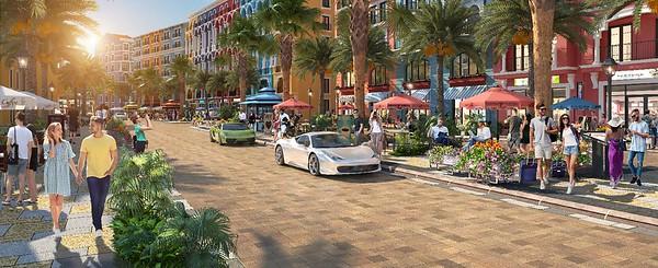 Marina Square streetscape