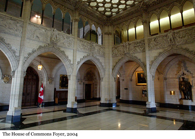 The House of Commons Foyer - Le foyer de la Chambre des communes, 2004