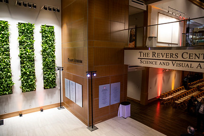 The Rivers School community celebrates the opening of the Revers Center on January 16, 2020. (Photo by Anna Miller Multimedia)