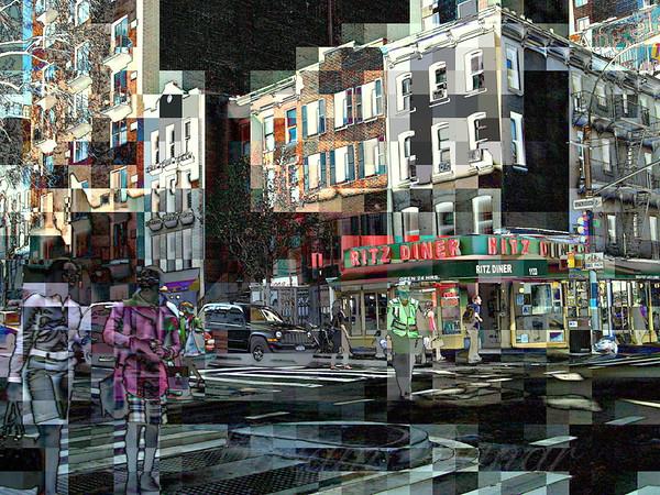Ritz Diner - New York City Street Scene
