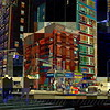 City Corner No. 3 - New York City Street Scene