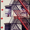 Stars and Stripes - Fire Escapes of New York