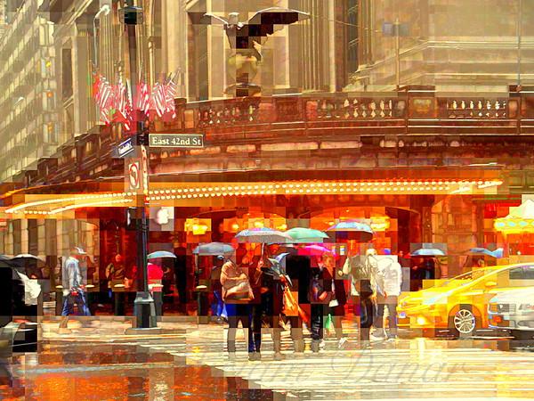Grand Central in the Rain