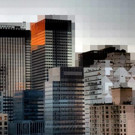 "New York City Skyline No. 2 - Architecture of New York City - ""City Blocks - Building Blocks"" series"