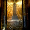 Empire State Building Art Deco Mural - Famous Buildings and Landmarks of New York City
