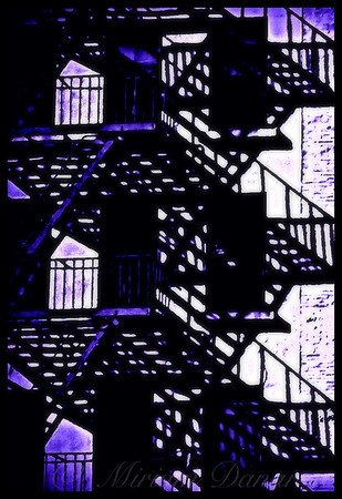 Fire Escapes Blues - Old Buildings and Architecture of New York City