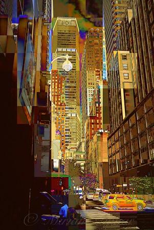 East 45th Street No. 2 - New York City Street Scene