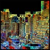 City Mosaic - Skyline and Architecture of New York City