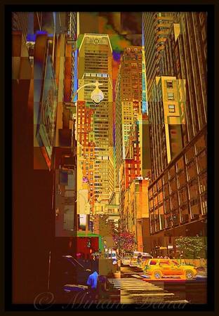 East 45th Street - New York City Street Scene
