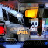 Traffic Jam - New York City Street Scene