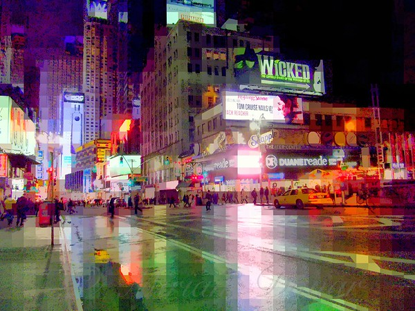 Beautiful Times Square - The Lights of New York