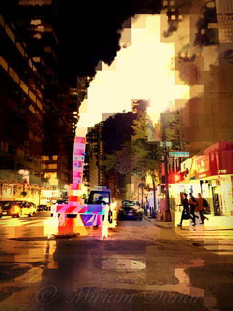 Making the Light - Night in New York