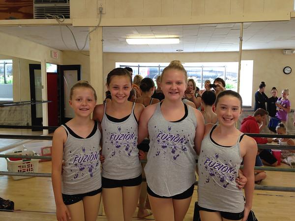 Fuzion Dance Camp 2014